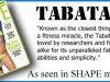What is Tabata Bootcamp at The Belly Dance Studio?