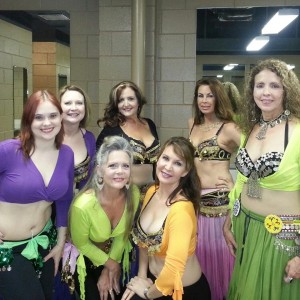 """The """"West Side Gypsies"""" performance troupe uses the Monday night Oriental-Rom class as their training grounds!"""